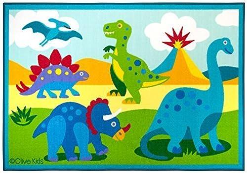 Olive Kids Dinosaur Land 39x58 Rug by Olive Kids