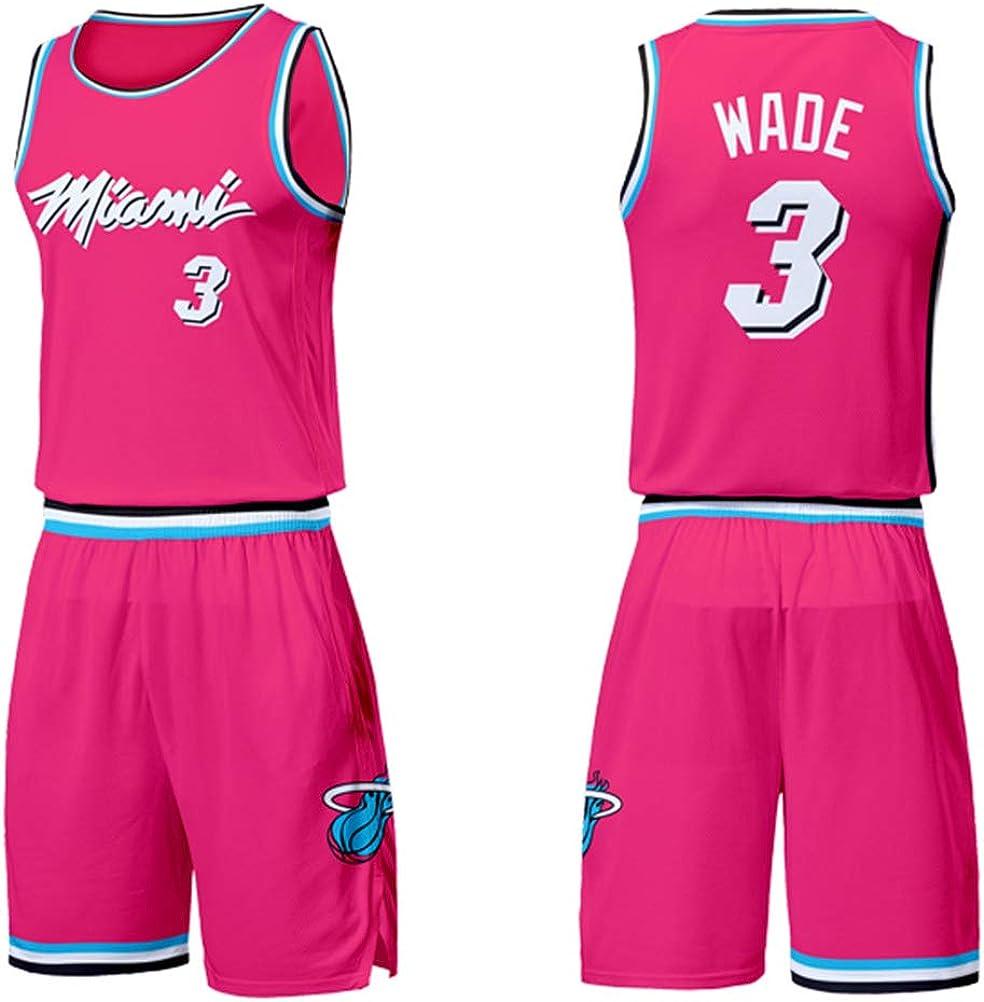Shorts de Jersey Miami Heat Dwyane Wade # 3 City Edition ...