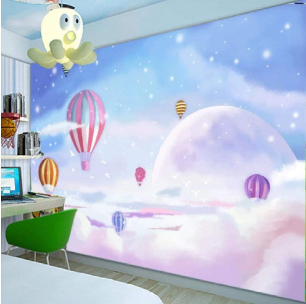 Custom 3D Cartoon Wall Cloth Nippon regular agency Hand-Painted Balloon Mediterranean Inventory cleanup selling sale