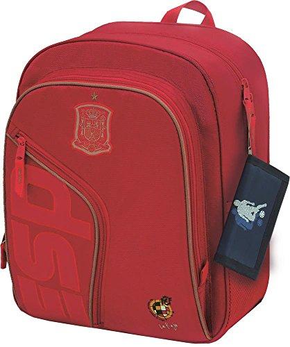 Selección Española Roja Mochila Tipo Casual  39 cm  Rojo