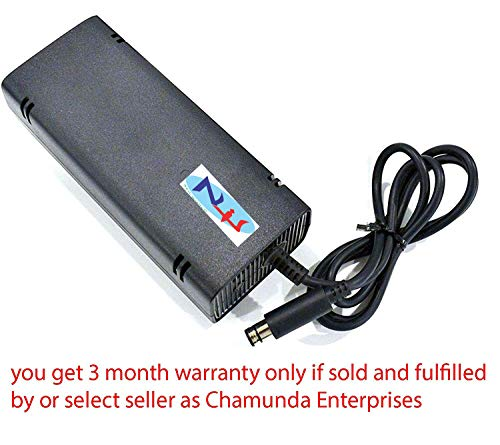 New World AC Power Supply Adapter Charger Brick for MIcrosoft XBOX 360 E Model console 220v Specially for Use In India