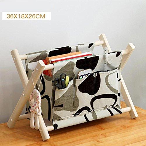 Xuan - Worth Another Stockage de Tissu de Motif Floral Noir et Blanc Stockage Pliant Stockage de Stockage Multifonctionnel Petites Choses à Adapter