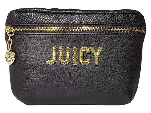 Juicy Couture Blank Check Belt Bag Black One Size