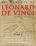 Les Carnets de Leonard de Vinci - Manuscrits B et D