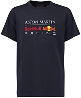 Red Bull Racing Aston Martin Kids Blue Authentic F1 T-Shirt