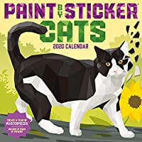 Paint by Sticker Cats 2020 Calendar: Includes 24 Pages of Stickers!