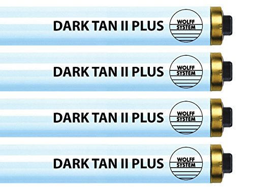 Wolff Dark Tan II Plus F73 HO 100 W Tanning Lamp