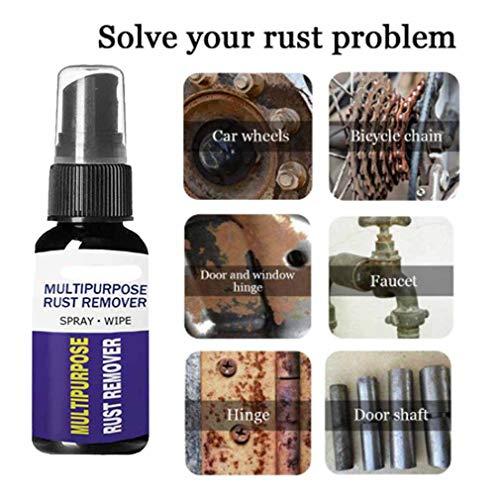 Zooarts 30ML Removedor de óxido tixotrópico - Tratamiento de óxido - Eliminador Óxido - Remueve el óxido Completamente - Producto Antióxido, Car Rust Remover