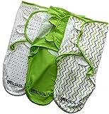 BaBiBa Pucksack 3er Set, 100% Premium Baumwolle, Extra Feste...