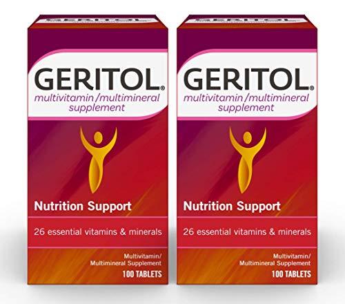 Geritol Multi-Vitamin Nutritional Support Tablets,...