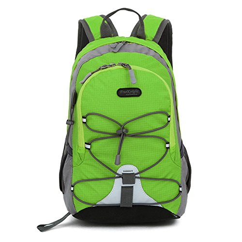 Small Size Waterproof Sport Backpack,10 inches Lightweight Ultra Light backpack,Suitable for Height Under 4 feet,for Girls Boys Traveling (Green)