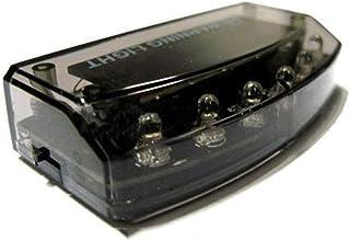 Hemore 6LED Solar alarma antirrobo luz portátil antirrobo ADVERTENCIA lámpara Premium coche ladrón alarma herramienta auto