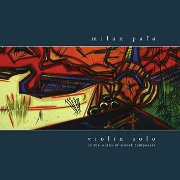 Violin Solo 5 - Milan Pala