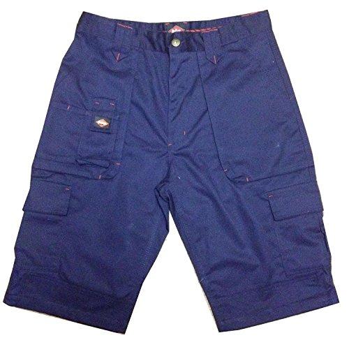 Lee Cooper Workwear LCSHO806 Classic Multi Pocket Cargo Heavy Duty Easy Care - Pantaloncini da lavoro da lavoro, colore: Blu navy