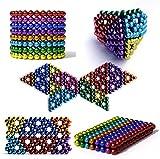 3T6B 216 cápsulas 5 Mm Bolas Magnéticos para El Desarrollo Inteligente Y La Descompresión Juguetes De Escultura De, Ideales para Enseñar En Casa En La Oficina Regalo (Color)