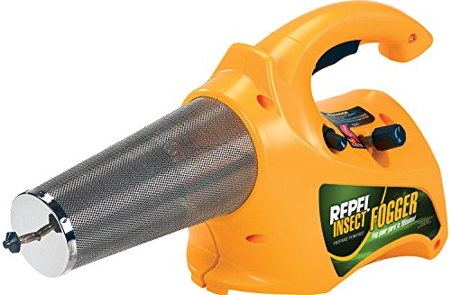 Repel 190397 Propane Insect Fogger for Killing and ling Mosquitoes, Flies, and Flying Insects in Your Campsite or Yard, 40 oz., Yellow