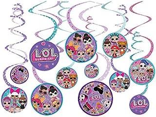 LOL Surprise! Hanging Swirl Decorations (12pc)