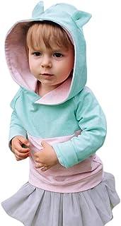 62943d773cd04e Kinlene Orecchio del Bambino dei Capretti del Ragazzo della Ragazza del  Fumetto 3D Felpa con Cappuccio