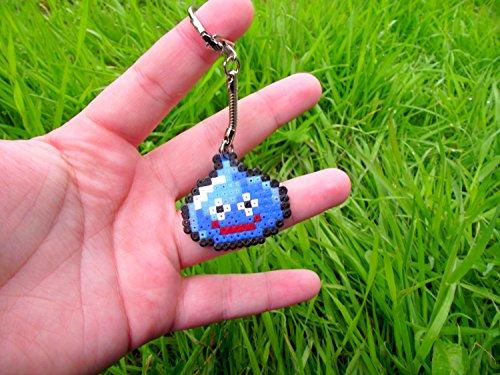 Schlüsselring Slime Dragon Quest ( Square Enix ) • Hama Beads • Pixel/art • Perler beads • Hama mini midi