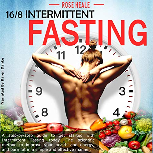 16/8 Intermittent Fasting audiobook cover art