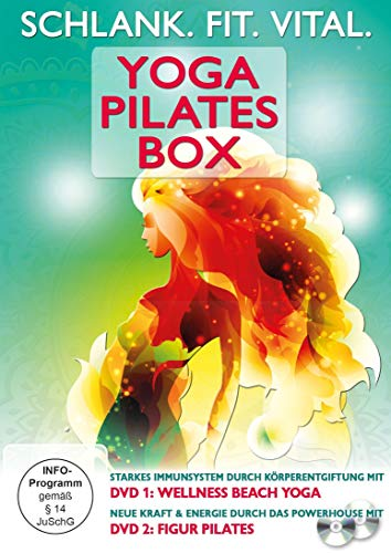 Schlank. Fit. Vital. Yoga Pilates Box [2 DVDs]