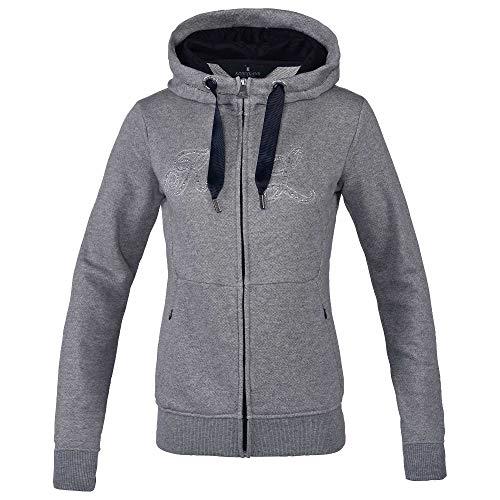 Kingsland Sweat Jacke Hoodie KLulrika Damen Ladies Light Grey FS20, Kin20_FS_Gr.:S