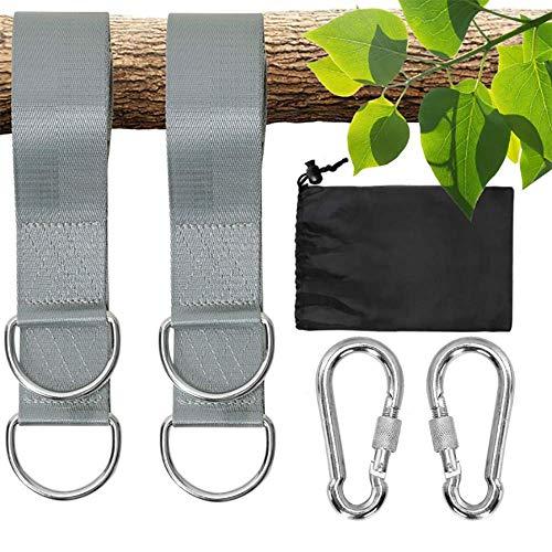 AcserGery Schaukel Befestigung Hängematte für Hängesessel Aufhängung mit Befestigung hängesessel Befestigung und Hängesack für Kinder