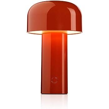 FLOS Battery Batteria Bellhop, Policarbonato, Colore: Rosso, 12,5x21cm