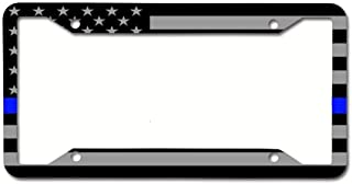 Customized License Plate Frame Stainless Steel Metal Car Tag Cover Holder Auto Car for Us Standard 4 Hole and Screws