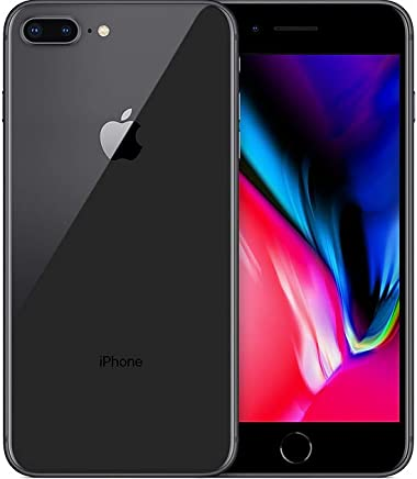 Apple- iPhone 8plus - Capacidad 64 GB - Color Grey(Renewed/Renewed)