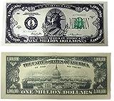 Million Dollar Bills- 100 Bills Very Realistic Looking Prop Money Copy -Educational Product-Play Money-Millones De Billetes Dinero Falso