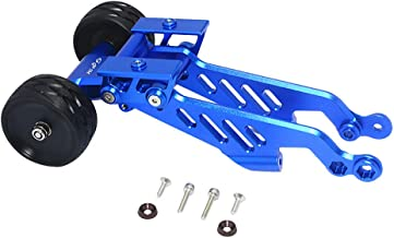 GPM Racing Aluminum Rear Wheelie with Wing Mount for ARRMA RC Car Upgrade Parts,Blue