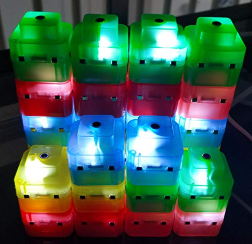 ElectroCubes - Build Your own Night Light with 30 Magnetic Light up Cubes