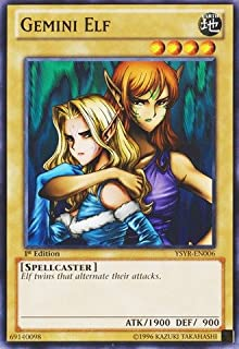 Yu-Gi-Oh! - Gemini Elf (YSYR-EN006) - Starter Deck: Yugi Reloaded - Unlimited Edition - Common