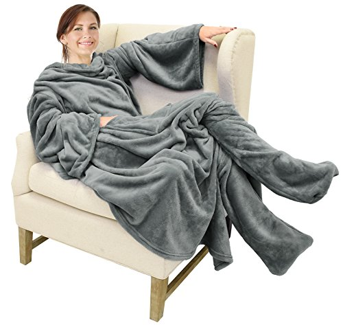 Our #2 Pick is the Catalonia Wearable Blanket to Relax In