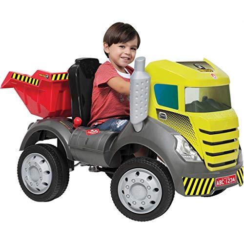 Caminhão Brutus com Caçamba, Bandeirante, verde