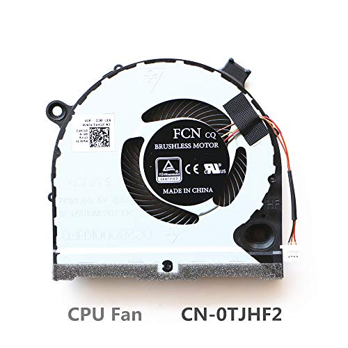 DXCCC Laptop Cooler Fan for Dell G3-3590 CPU Cooling Fan CN-04NYWG 023.100G9.0013 CPU Fan