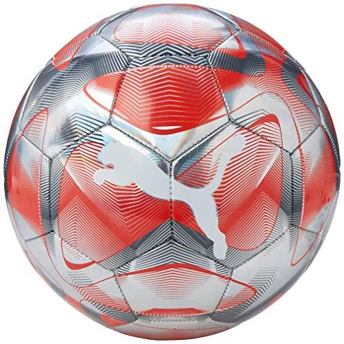 PUMA Unisex– Erwachsene Future Flash Schildkröt Fitness Pilatesball, Ø28cm, Yoga Ball, Grün, Mini Gymnastikball, Übungsball, Fitnessball, 960133, Grey Dawn-NRGY Red-Castlerock White, 5