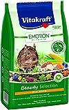 Vitakraft solo Fodera per Degus, verdura, Luzerne, fiori triVita Complex, Emotion Beauty Selection All Ages, 5 x 600 gr