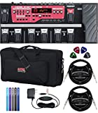 BOSS RC-300 Loop Station with Expression Pedal Bundle with AC Adapter, GK-2110 Gig Bag, Blucoil 2-Pack of...