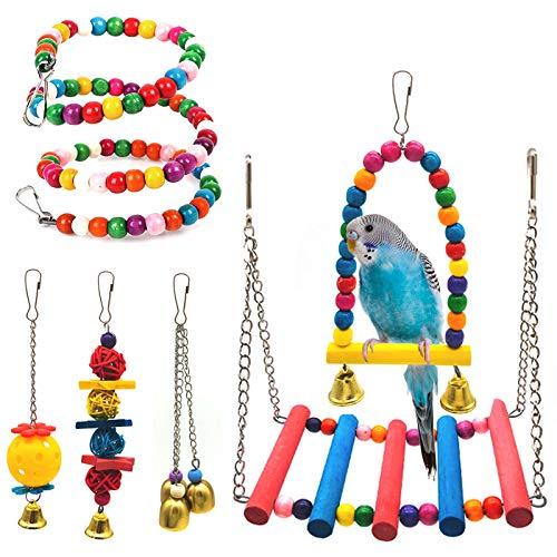 Set de juguetes para pájaros de SSRIVER