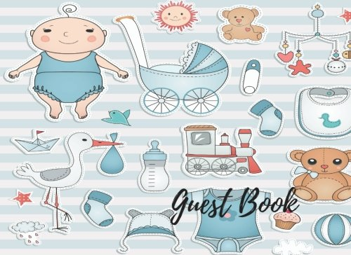 Guest Book: Baby Shower Guest Book Sign In, Free Layout To Use as you wish for Names & Addresses, or Advice, Wishes, Comments or Predictions. (Guests)