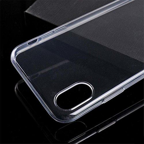 Handy Lux® Ultra dünn Handy Schutz Hülle Cover Clear Case Silikon für Huawei Nova 2s - 5
