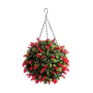 Best Artificial Hanging Topiary Protected