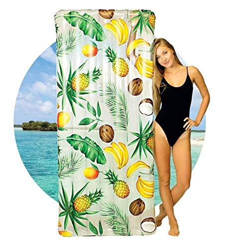 Poolcandy Tropical Fruit Deluxe Pool Raft
