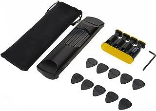 ポケットギター ギターピック ハンドトレーナーセット 6フレット 右手 指の訓練 練習用 初心者向け ギター練習 収納バッグ付き