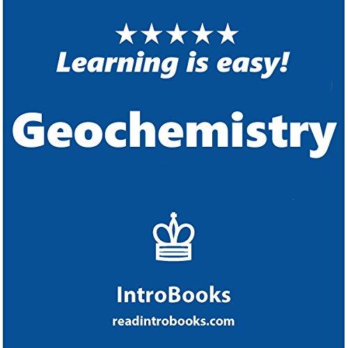 Geochemistry audiobook cover art