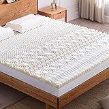 NOFFA 10 Zones Surmatelas en Mousse à mémoire -Design Ergonomique -Très Respirant (90 * 190 cm)