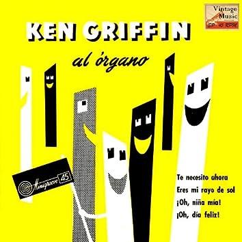 """Vintage Jazz Nº 49 - EPs Collectors, """"Ken Griffin Al Organo"""""""