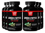 Spirulina Powder - Green Coffee Bean Extract with GCA 800 - Fat Burner Pills (6 Bottles - 360 Capsules)